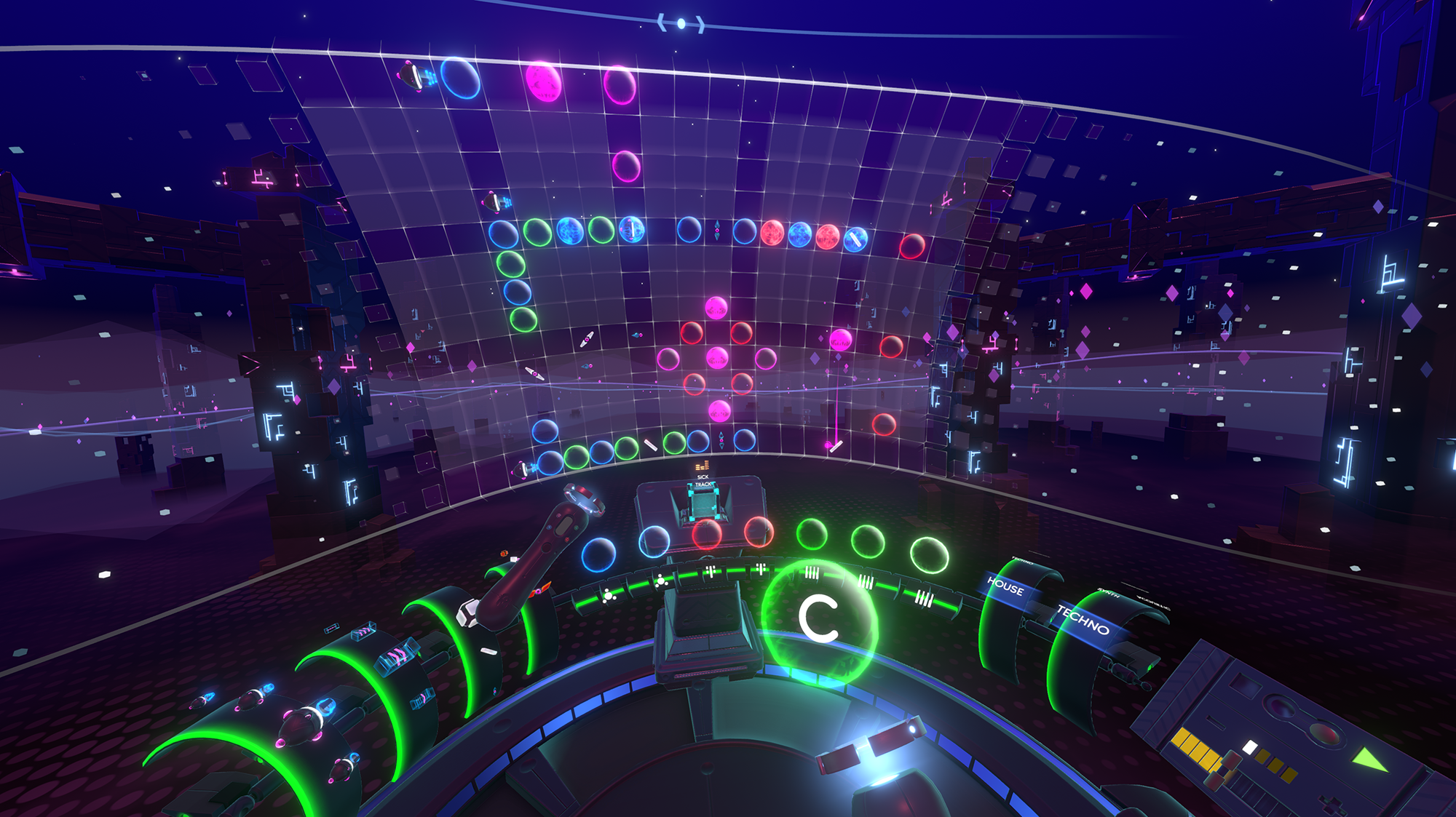Track Lab PSVR Music Screenshot